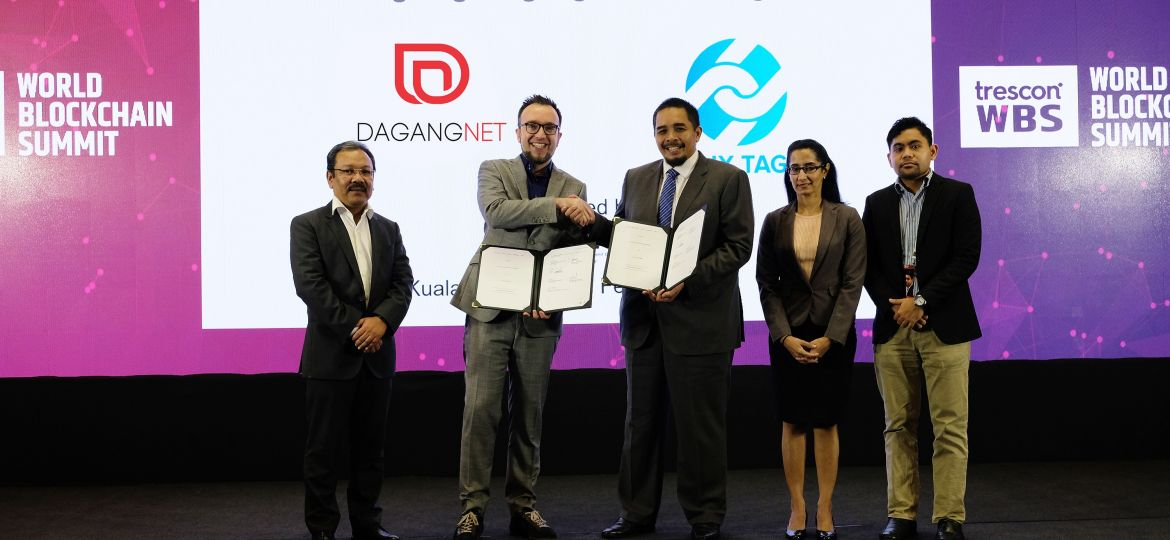 Luxtag and DagangNet partnership signing at WBS