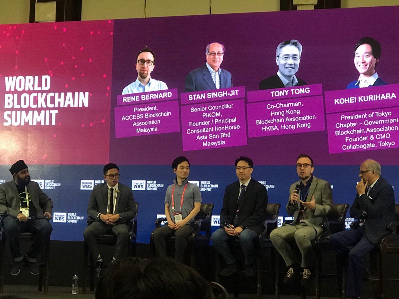 LuxTag takes part in World Blockchain Summit 2019